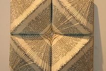 Book sculpture, folded pages / by Helen Sanford