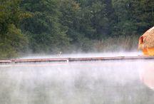Cabanes flottantes / Nos Cabanes flottantes en Franche-Comté (Les Cabanes des Grands Lacs)