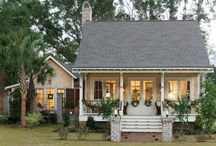 Porch and Landscaping