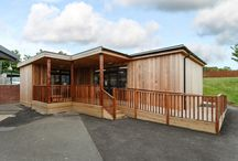 Eco-classroom at Coopers Edge Primary School in Gloucester