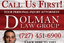 Dolman Law Group / Dolman Law Group is a personal injury law firm comprised of Florida trial attorneys committed to leveling the playing field with insurance carriers and corporate giants in personal injury cases.  Dolman Law Firm handles serious injury claims relating to an automobile accident, motorcycle accident, trucking accident, insurance carrier bad faith, wrongful death, catastrophic injury, traumatic brain injury, and injuries caused by a drunk driver.  #Clearwater #lawfirm #personalinjuryattorney
