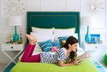 Teen Bedroom / Bedroom Inspiration and picks for a teen girl.