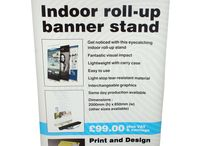 Roll Up stands / Great display for any business and very reasonably priced.