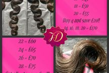 Hopeless Diva's Brazilian Body Wave / This is the Hopeless Diva Brazilian Body wave 100% virgin remy hair available in lengths 14inch - 28inch soft, durable healthy hair, cuticles in same direction and well constructed wefts. Prices Start from £40 per 100g - 105g bundle £5 off any 3 bundle combo or £10 off an 4 bundle combination. We accept paypal and ship 1st class or next day delivery via royal mail within 24hrs of cleared payment or pick up in person. ***UK only*** Call: 07908672721 Email kasher@hopelessdiva.com