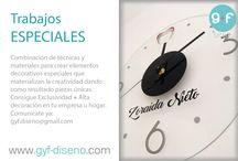 G+F Diseño // Decoración / Diferentes estilos y formas de decoración para empresas u hogares