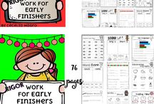 Work for Early Finishers