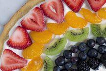 Spring Desserts w/ yogurt