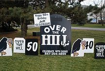 Over the hill ideas
