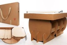 Flatgoods (furniture made from cardboard)