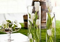 Dekoracje stołu - Komunia