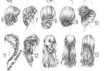 Hår og frisyrer