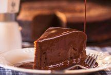 Gâteau froid au chocolat