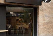 fachadas de restaurantes