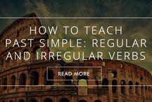 how to teach past simple: reg/irreg verbs