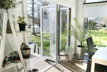 Vinterträdgård / Inspiration för dig som vill skapa din egen vinterträdgård