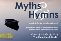 Myths & Hymns / Playing June 13 - July 13, 2014 at the Heartland Studio in Chicago. More information at www.BoHoTheatre.com