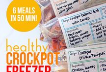 Clean Freezer Meals / by Crystal Stephens