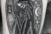 Døden tattoo