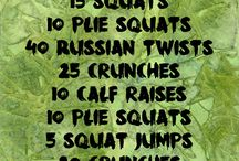 My exercise.