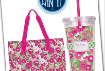 PIN IT TO WIN IT! / Simply re-pin this Lilly Pulitzer cooler/cup combo from our Pin It To Win It Board and we will randomly choose 8 winners Friday, June 7th!  Good Luck!  *Only 1 re-pin per user. Contest ends Friday, June 7, 2013. Prize chosen by Palmetto Moon Crew.