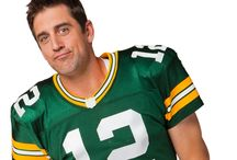 Aaron Rodgers MVP: Most Valuable Photobomber / Get in on the action on the field... now YOU can get Photobombed by Aaron Rodgers! http://associatedbankmvp.com/ / by Associated Bank