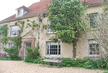 Charleston Farmhouse near Lewes / Country home of artists Duncan Grant and Vanessa Bell...