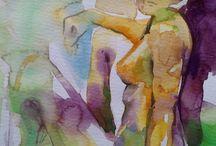 Gabriele Templin-Kirz Abstrakte Malerei   Art On Screen - [AOS] Magazine NEWS