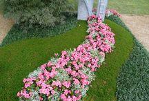 Bepflanzung Grab
