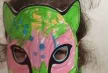 Cheetah craft and art ideas