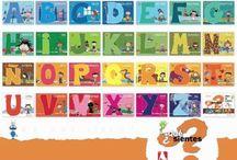 + Cuentos: Abecedarios / Para acercarse a las letras y a las palabras. Todos los cuentos en la Biblioteca Manuel Alvar (ZGZ)