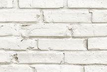 Papier peint briques // NEODKO