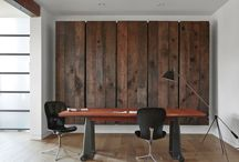 Rustic Home Styling / I love to see rustic styling in the home. Uses for re-cycle materials like old pallets.