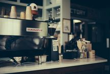 Videri Cafe / Stop by the Videri Cafe and enjoy a delicious, warm cup of Stumptown coffee!