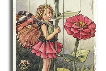 Flower fairies by Cicely Barker