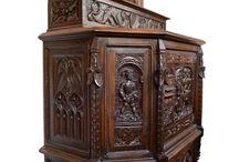 Antik, vintage / Reneszánsz stílusú bútor, barokk stílusú bútor, antik bútor