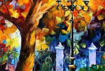 tree acrylic