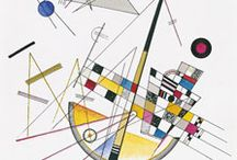 Wassily Kandinsky / The first great abstract painter.