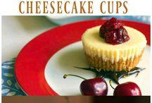 Cheesecake, choc cherry