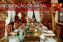 Decoração Natal para Casa Toda! / Veja muito mais fotos, dicas e informações técnicas de cada AMBIENTE no blog Decor Salteado! É só clicar nas imagens! ; - )
