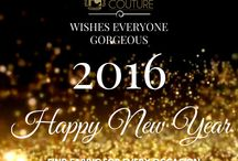 Happy New Year / Fab Couture wishes everyone Happy New Year 2016. Look gorgeous with Fab Couture in 2016!!