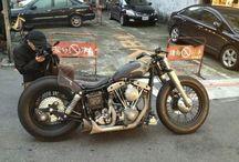 Bobbers Japan Style / Bikes motorcycles
