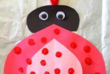 ST. Valentine`s day / Crafts for children