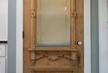 Antique doors and windows / Scouring Pinterest for the most gorgeous antique windows and doors to swoon over. Scouring in real life to find a few to incorporate into modern farmhouse fixer upper.