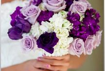 Elyse's wedding bouquets