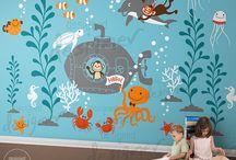 Ściany dla dzieci