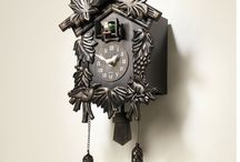 Cuckoo Wall Clock Pendulum Forest Bird Quartz Volume Control Auto night Shut Off