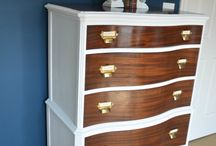 Wood Furniture / Inspiration for our furniture makeover
