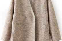 Coat/Jakket / Jakker, kåper, strikka jakker og skin jakke