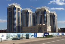 Laminam Millennium Towers Astana Kazakhstan / Millennium Towers in Astana ( Kazakhstan ) external coating with Laminam slabs
