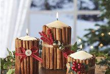 Christmas themed wedding